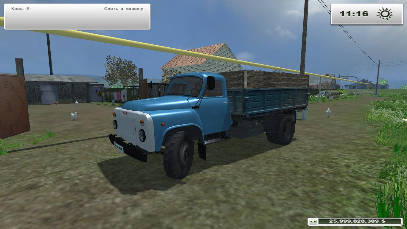 Газ-53 для farming simulator 2015.